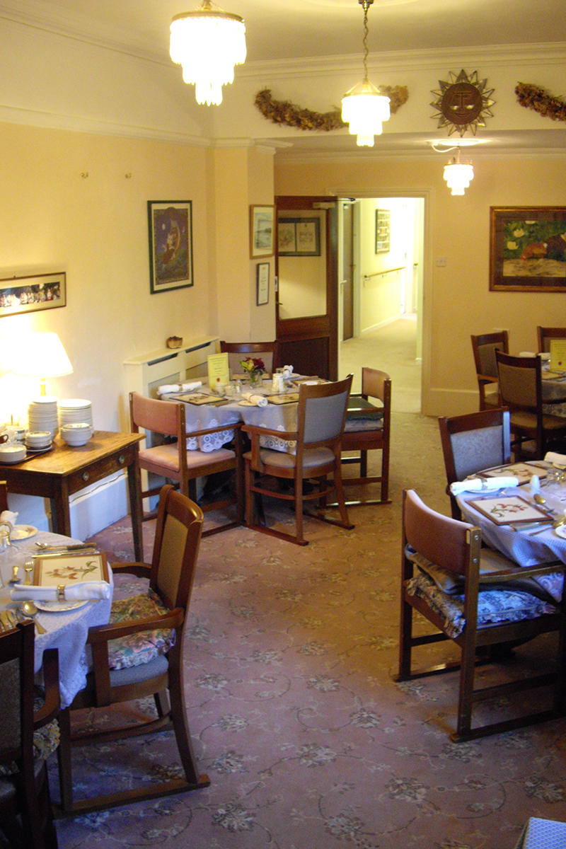 Ample Dining Area at etirement Home