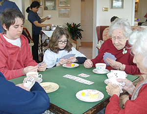Card Games at Devon Retirement Home