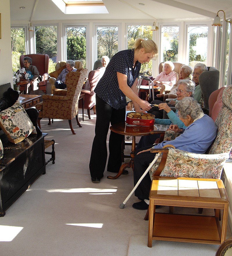 Care at Tracey House in Bovey Tracey on Dartmoor