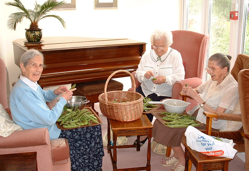 Daily Activities at Tracey House Care Home