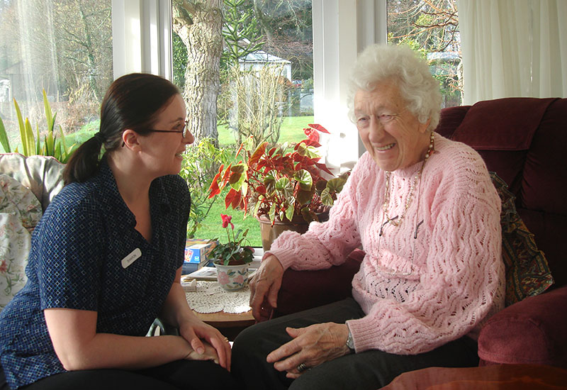 Fully Qualified & Trained Staff at Tracey House Retirement Home