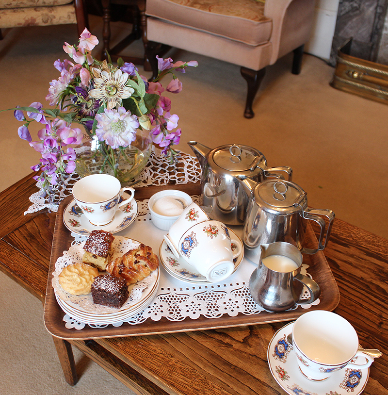 Tea Time at Tracey House in Bovey Tracey